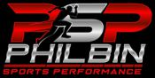 Philbin Sports Performance Dark Logo