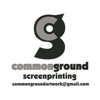 Common Ground Screen Printing Logo